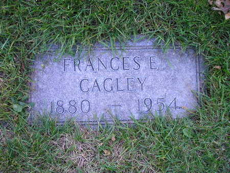 CAGLEY, FRANCES E - Bremer County, Iowa | FRANCES E CAGLEY