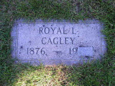 CAGLEY, ROYAL L - Bremer County, Iowa | ROYAL L CAGLEY