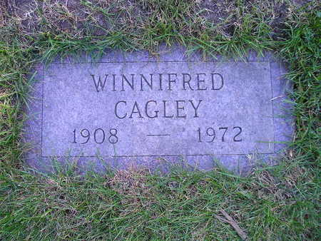 CAGLEY, WINNIFRED - Bremer County, Iowa | WINNIFRED CAGLEY