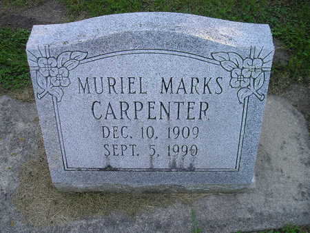 MARKS CARPENTER, MURIEL - Bremer County, Iowa | MURIEL MARKS CARPENTER
