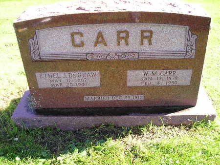 DEGRAW CARR, ETHEL J - Bremer County, Iowa | ETHEL J DEGRAW CARR