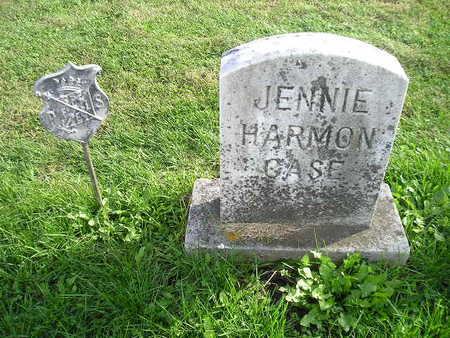 HARMON CASE, JENNIE - Bremer County, Iowa | JENNIE HARMON CASE