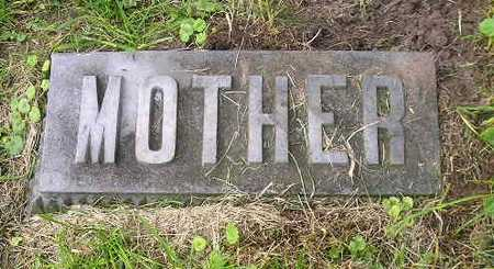 CASE, MOTHER - Bremer County, Iowa   MOTHER CASE