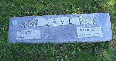 CAVE, HARRIET S - Bremer County, Iowa | HARRIET S CAVE