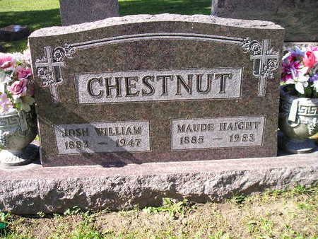 CHESTNUT, MAUDE - Bremer County, Iowa | MAUDE CHESTNUT