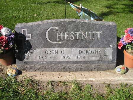 CHESTNUT, ORON O - Bremer County, Iowa | ORON O CHESTNUT