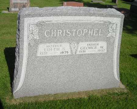 CHRISTOPHEL, EDITH S - Bremer County, Iowa | EDITH S CHRISTOPHEL