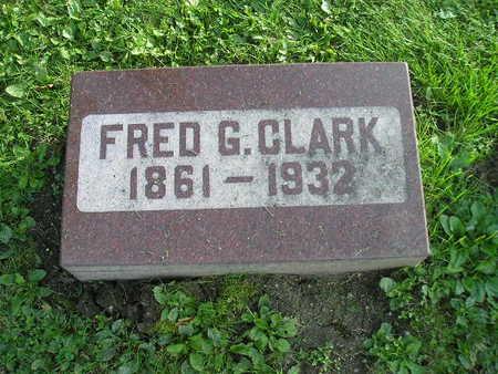 CLARK, FRED G - Bremer County, Iowa | FRED G CLARK