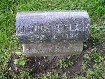 CLARK, GEORGE C - Bremer County, Iowa | GEORGE C CLARK