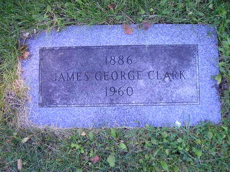 CLARK, JAMES GEORGE - Bremer County, Iowa | JAMES GEORGE CLARK