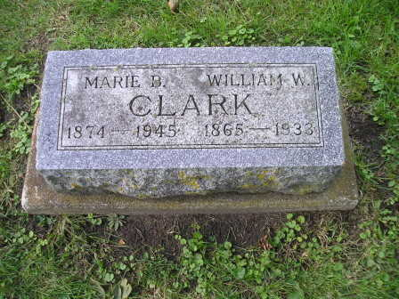 CLARK, WILLIAM W - Bremer County, Iowa | WILLIAM W CLARK