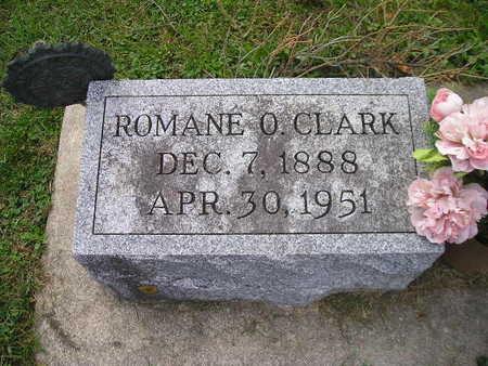 CLARK, ROMANE O - Bremer County, Iowa | ROMANE O CLARK