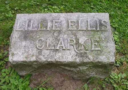 ELLIS CLARKE, LILLIE - Bremer County, Iowa | LILLIE ELLIS CLARKE