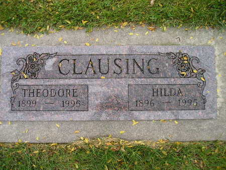 CLAUSING, THEODORE - Bremer County, Iowa | THEODORE CLAUSING