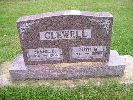 CLEWELL, RUTH M - Bremer County, Iowa | RUTH M CLEWELL