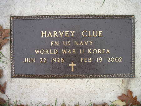 CLUE, HARVEY - Bremer County, Iowa | HARVEY CLUE