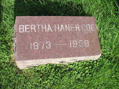 COE, BERTHA - Bremer County, Iowa | BERTHA COE