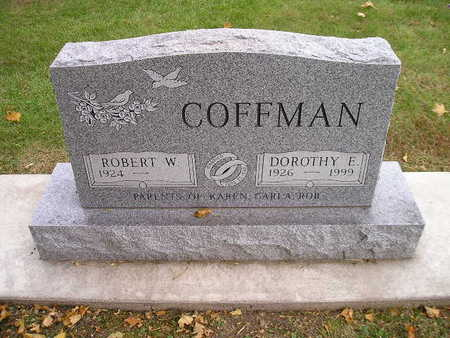 COFFMAN, ROBERT W - Bremer County, Iowa | ROBERT W COFFMAN