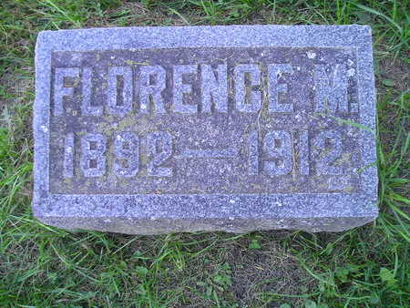 COLBURN, FLORENCE M - Bremer County, Iowa | FLORENCE M COLBURN