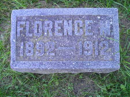 COLBURN, FLORENCE M - Bremer County, Iowa | FLORENCE M COLBURN