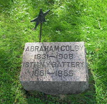 COLBY, ABRAHAM - Bremer County, Iowa | ABRAHAM COLBY