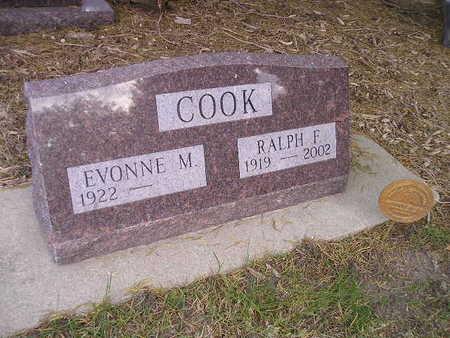 COOK, RALPH F - Bremer County, Iowa | RALPH F COOK