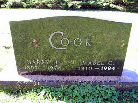 COOK, MABEL C - Bremer County, Iowa | MABEL C COOK