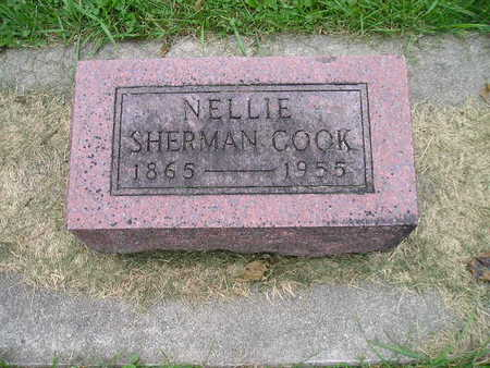 SHERMAN COOK, NELLIE - Bremer County, Iowa | NELLIE SHERMAN COOK