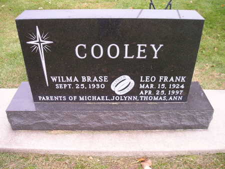BRASE COOLEY, WILMA - Bremer County, Iowa | WILMA BRASE COOLEY
