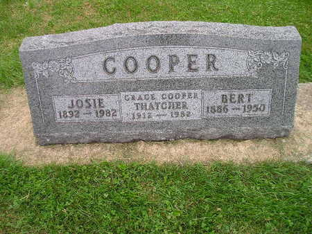 COOPER THATCHER, GRACE - Bremer County, Iowa | GRACE COOPER THATCHER