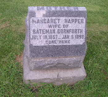 HAPPNER CORNFORTH, MARGARET - Bremer County, Iowa | MARGARET HAPPNER CORNFORTH