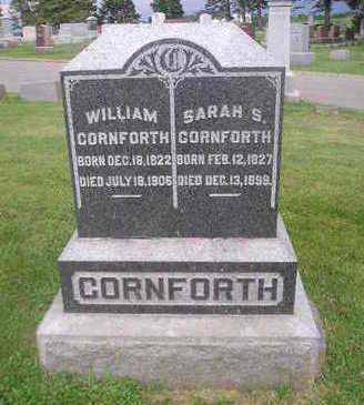 CORNFORTH, WILLIAM - Bremer County, Iowa | WILLIAM CORNFORTH