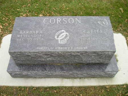 CORSON, CARTER - Bremer County, Iowa | CARTER CORSON