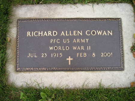 COWAN, RICHARD ALLEN - Bremer County, Iowa | RICHARD ALLEN COWAN