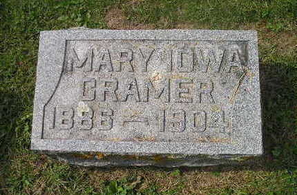 CRAMER, MARY - Bremer County, Iowa | MARY CRAMER