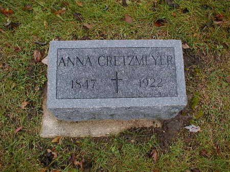 CRETZMEYER, ANNA - Bremer County, Iowa | ANNA CRETZMEYER