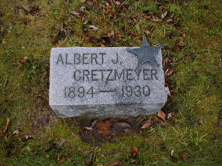CRETZMEYER, ALBERT J - Bremer County, Iowa | ALBERT J CRETZMEYER