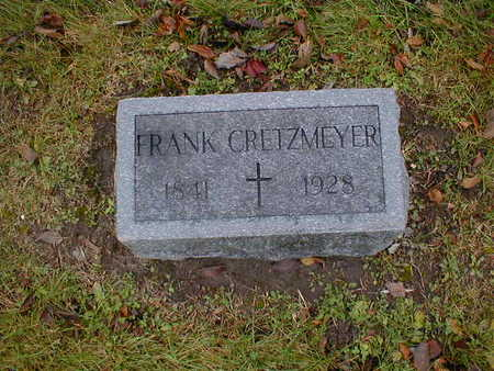 CRETZMEYER, FRANK - Bremer County, Iowa | FRANK CRETZMEYER