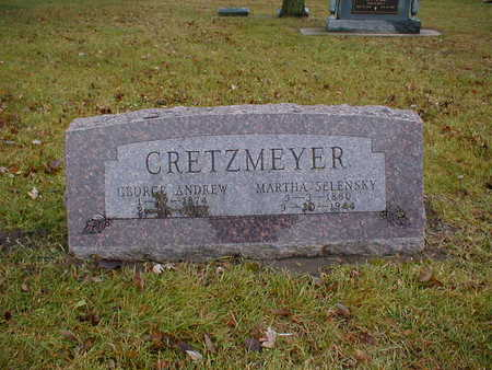CRETZMEYER, MARTHA - Bremer County, Iowa | MARTHA CRETZMEYER