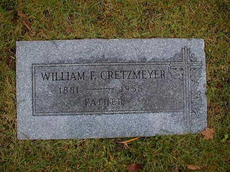 CRETZMEYER, WILLIAM F - Bremer County, Iowa | WILLIAM F CRETZMEYER