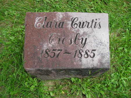 CROSBY, CLARA - Bremer County, Iowa | CLARA CROSBY