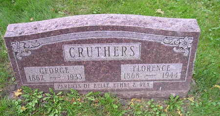 CRUTHERS, FLORENCE - Bremer County, Iowa | FLORENCE CRUTHERS