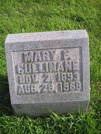 CULLINANE, MARY F - Bremer County, Iowa | MARY F CULLINANE