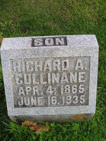 CULLINANE, RICHARD A - Bremer County, Iowa   RICHARD A CULLINANE