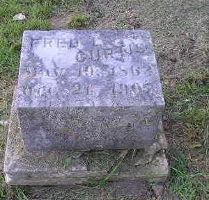 CURTIS, FRED L - Bremer County, Iowa   FRED L CURTIS
