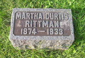 RITTMAN CURTIS, MARTHA - Bremer County, Iowa | MARTHA RITTMAN CURTIS