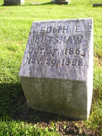 CUTSHAW, EDITH E - Bremer County, Iowa | EDITH E CUTSHAW
