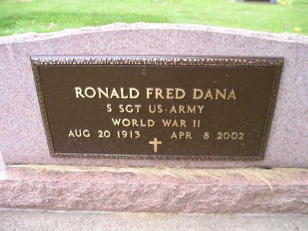 DANA, RONALD FRED - Bremer County, Iowa   RONALD FRED DANA