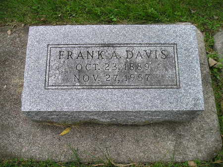 DAVIS, FRANK A - Bremer County, Iowa | FRANK A DAVIS
