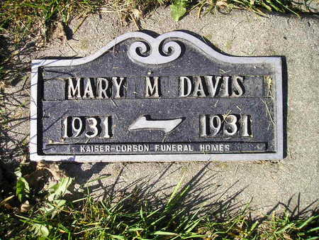 DAVIS, MARY M - Bremer County, Iowa | MARY M DAVIS